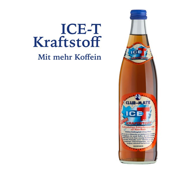 Club Mate ICE-T Kraftstoff