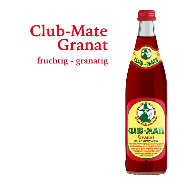 Club Mate Granatapfel